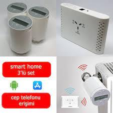 Saswell 3 Termostatik Vana Kafalı Akıllı Ev Isıtma Sistemi