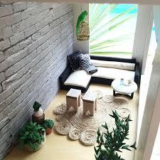 contemporary dollhouse furniture. Modern Miniature Dollhouse Renovation More Photos Instagram Onebrownbear Contemporary Furniture O