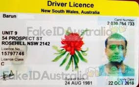 Legit Australia 100 Id - 150 For Fake Drivers Scannable Licenses