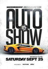 Car Club Template Bylaws Auto Show Flyer Newsletter Sports Templates