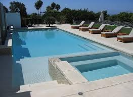 View in gallery A modern pool terrace