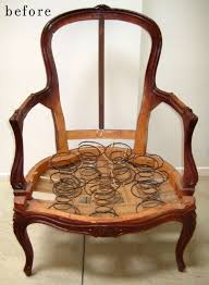how to upholster an antique chair