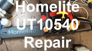 homelite logo. homelite 35cc ut10540 chainsaw fuel line repair logo