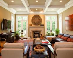 Design & Decorating Traditional Family Room Furniture Arrangement