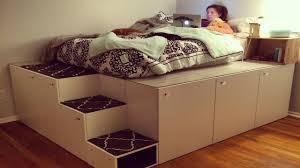 furniture that transforms. Ikea Platform Storage Bed Furniture That Transforms