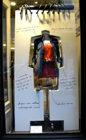 Window display idea, rough, real writing with product. Almost like the  thinking/brainstorm of the idea Window Display