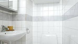 white square tile bathroom. Contemporary White Bathroom White Square Tile Interior Design Large Tiles  Tiles To T