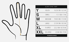 Youth Glove Size Chart Football Sizing Baseball Gloves Online Charts Collection