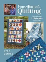 Love of Quilting TV Show - 2700 Series - Fons & Porter - The ... & Our newest series includes an original row quilt with blocks created by  Marianne Fons and Liz Porter, and two traditional designs from staff  members. Adamdwight.com