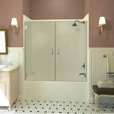 double swinging bathtub doors shower tub door reviews