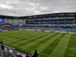 Allianz Field Seating Chart Allianz Field Section 109 Rateyourseats Com
