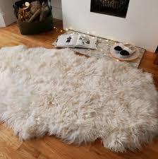 luxury large sheepskin rug xl quad by sheeper notonthehighstreet com ikea costco uk australium