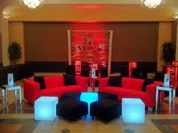 Living Room Bar Miami Miami Heat Basketball Theme Bar Mitzvah Event Decor Red Black