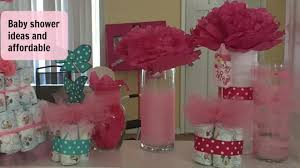 Baby Showers On A Budget Dollar Tree Diy Baby Shower Decor On A Budget Youtube