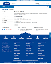Examples Of Company Newsletters Lowes 40 Newsletter Management Design Examples