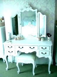 Makeup Vanity Set With Lighted Mirror Black Lights Ck Table Bedroom ...