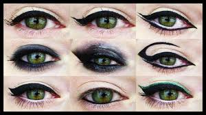 makeup for diffe eye shapes 12 eyeliner tutorials for all eye shapes you
