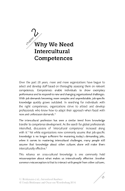 why we need intercultural competences springer inside