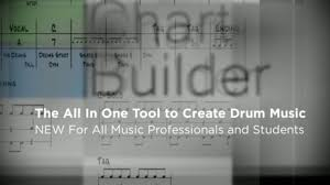 How To Write A Fast And Easy Drum Chart Drum Chart Builder