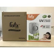 MÁY TIỆT TRÙNG SẤY KHÔ UV FATZ BABY FB4702KM Tặng 2 bình sữa Silicon Fatz  Baby (1 bình 240ml + 1 bình 180ml) - Máy tiệt trùng Thương hiệu FatzBaby