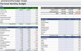 Google Personal Monthly Budget Template | Sun Wayne | Flickr