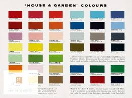Interlux Paint Chart A Fold Out Leaflet Of A Paint Chart By International Paints
