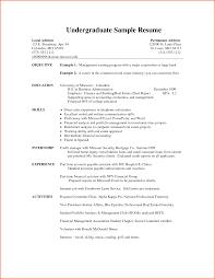 Prepossessing Resume Format For Internship Student For Your Resume