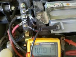 battery drawing down can t locate short rangerforums net reading between ground cable and disconnected negative battery terminal three wire harness disconnected
