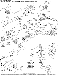 Kohler ch23 76623 mtd 23 hp 17 2 kw parts diagram for fuel system rh jackssmallengines
