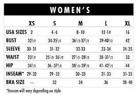 Patagonia Size Chart Women S 78 Explicit 39 Waist Size Chart