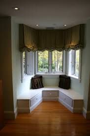 endearing shades and blinds for bay window decoration and home interior ideas mind ing living