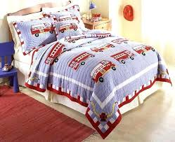 fire truck bedroom set firetruck quilt boys cotton bedding full queen or twin size fire truck bedding