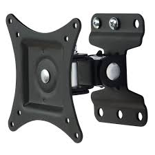 inland tilt and swivel arm tv wall mount for 13 in 30 in