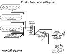 tele wiring diagram single coil neck humbucker my other fender bullet guitar wiring diagram
