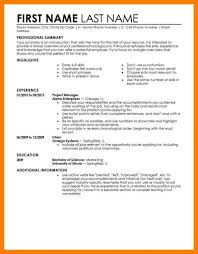 The Perfect Resume Examples How To Make A Cv Example W ~ Sevte