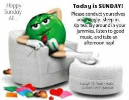 Happy Sunday quotes quote days of the week sunday m and ms sunday ... via Relatably.com