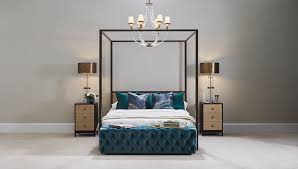 Four Poster Bed Exclusive Grainger Four Poster Bed Luxdecocom
