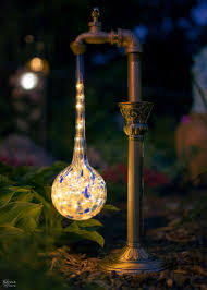 diy outdoor lighting. Creative And Easy DIY Outdoor Lighting | Solar Lights Landscape Diy E