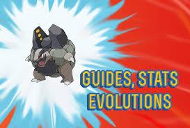 Pokemon Lets Go Alolan Golem Guide Stats Locations