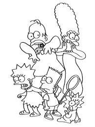 Kids N Funde 58 Ausmalbilder Von Simpsons