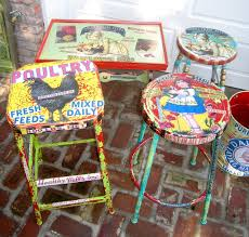 brightly painted furniture. By Mseratt99 Fun, Very Colorful Painted/decoupage Vintage Furniture. | Brightly Painted Furniture E