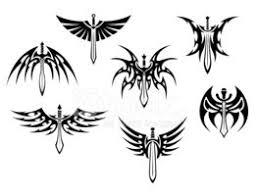 Meče A Dýky Tribal Tetování Vektory Z Knihovny Clipartme