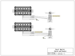 splitting 2 three wires humbucker with one 2 way toggel switch? Wiring Split Humbucker Dpdt Pot notice that each of the splits uses only one side of the 2 way dpdt (you can use either a mini toggle or a push pull pot) your split wire will do the job Dpdt Relay Wiring