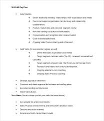 90 Day Transition Plan Template Editable Day Plan Word Doc Download