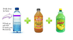 Apple Cider Vinegar, Lemon Juice - house cleaner drink Askahousecleaner.com