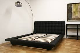 black or white furniture. All Tufted Leather Bed In Black Or White With Padded Frame Around Furniture