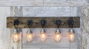 rustic bathroom lighting fixtures. Rustic Bathroom Light Fixtures Incredible 5 Country Style Pendant Vanity Fixture Aftcra Intended For 7 Lighting