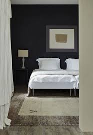 farrow ball black walls bedroom