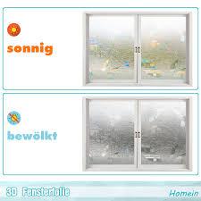 Homein 3d Fensterfolie Selbstklebend Sichtschutzfolie