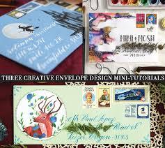 Three Creative <b>Envelope Design Mini</b>-Tutorials – The Postman's ...
